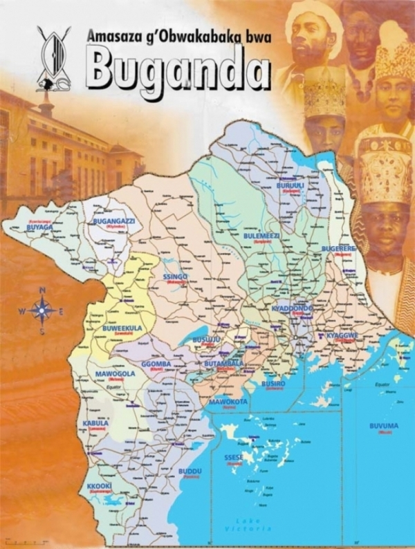 Buganda no kwefuga kwayo the international country of ugandabuganda or ganda or waganda turned around as an independent state or nation of buganda on 8th october 1962 sciox Gallery